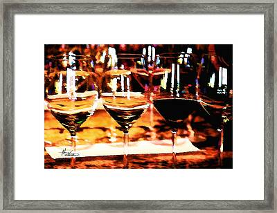 The Toast Framed Print