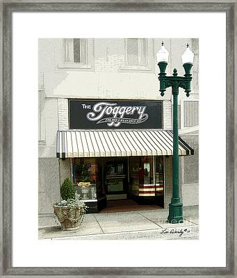 The Toggery Framed Print