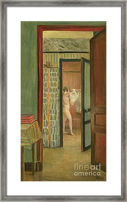 The Toilet Framed Print by Henri Lebasque