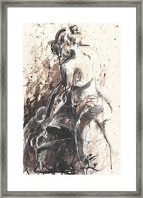 The Toilet Framed Print by Melinda Dare Benfield