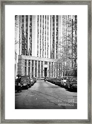 The Tombs 1990s  Framed Print by John Rizzuto