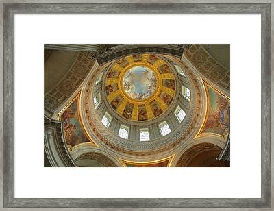 The Tombs At Les Invalides - Paris France - 01131 Framed Print by DC Photographer