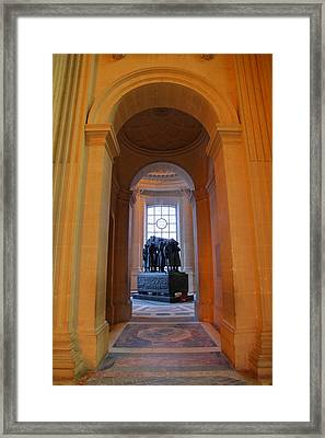 The Tombs At Les Invalides - Paris France - 011315 Framed Print by DC Photographer
