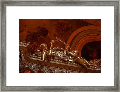 The Tombs At Les Invalides - Paris France - 011318 Framed Print by DC Photographer