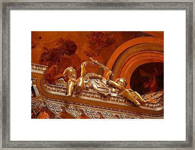 The Tombs At Les Invalides - Paris France - 011319 Framed Print