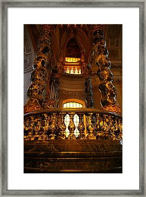 The Tombs At Les Invalides - Paris France - 011321 Framed Print