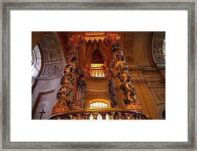 The Tombs At Les Invalides - Paris France - 011323 Framed Print by DC Photographer