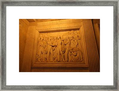 The Tombs At Les Invalides - Paris France - 011326 Framed Print by DC Photographer