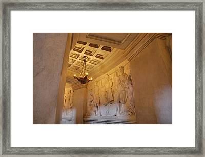 The Tombs At Les Invalides - Paris France - 011329 Framed Print by DC Photographer