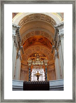 The Tombs At Les Invalides - Paris France - 011333 Framed Print by DC Photographer