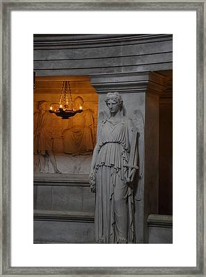 The Tombs At Les Invalides - Paris France - 011334 Framed Print