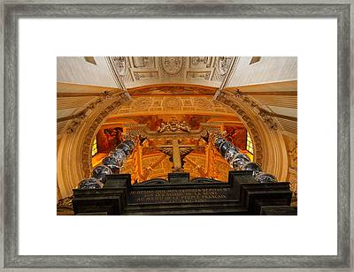 The Tombs At Les Invalides - Paris France - 011337 Framed Print by DC Photographer