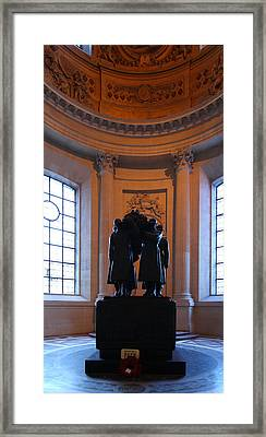 The Tombs At Les Invalides - Paris France - 01134 Framed Print by DC Photographer