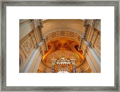 The Tombs At Les Invalides - Paris France - 01137 Framed Print by DC Photographer