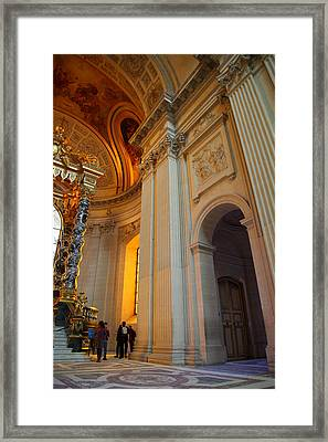 The Tombs At Les Invalides - Paris France - 01138 Framed Print by DC Photographer