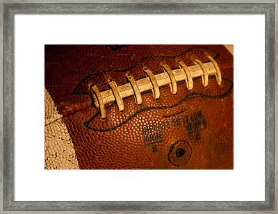 The Tool Of The Gridiron Framed Print by David Patterson