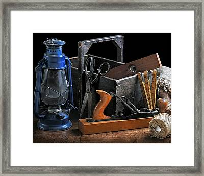 Framed Print featuring the photograph The Toolbox by Krasimir Tolev