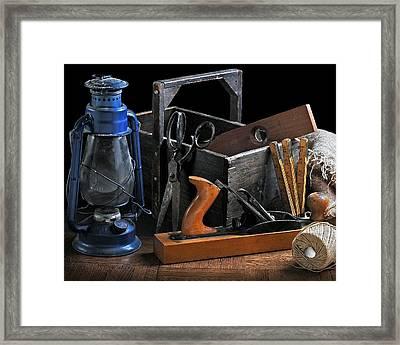 The Toolbox Framed Print by Krasimir Tolev