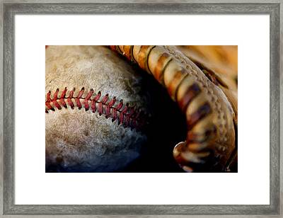 The Tools Of The Game Framed Print