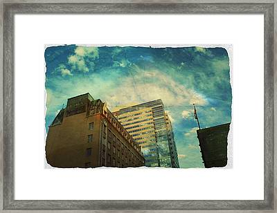 The Tops Framed Print by Cathie Tyler