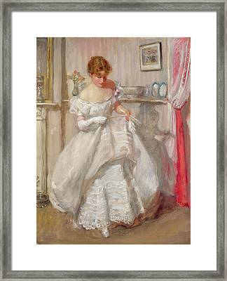 The Torn Gown Framed Print