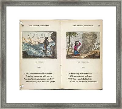 The Tornado Framed Print by British Library