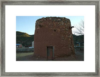 The Torreon In Lincoln City New Mexico Framed Print