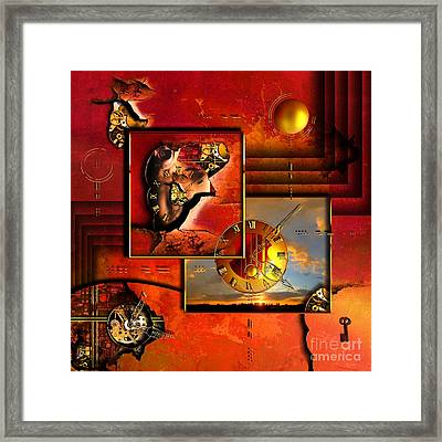 The Tortures Never Stop Framed Print by Franziskus Pfleghart
