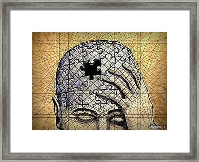 The Total Does Not Exist Without The Parts Framed Print by Paulo Zerbato