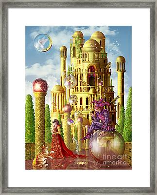 The Tower Framed Print by Ciro Marchetta