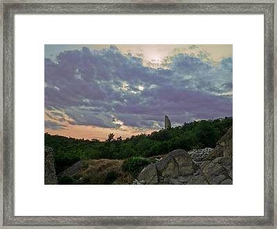 Framed Print featuring the photograph The Tower by Eti Reid