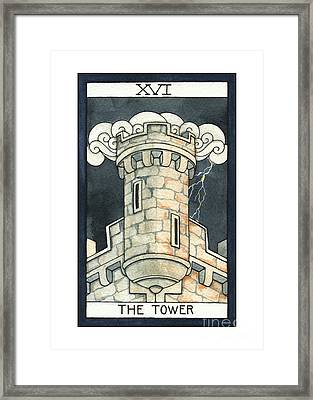 The Tower Framed Print by Nora Blansett