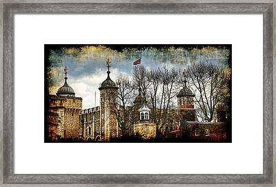 The Tower Of London Framed Print by Joanna Madloch