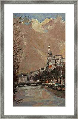 The Tower Of Metz And Co Amsterdam Framed Print