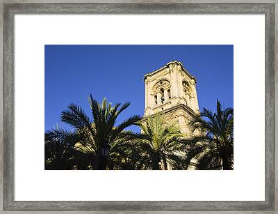 The Tower Of The Cathedral Of The Incarnation Framed Print by John Rocha