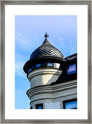 The Tower Framed Print by Tommytechno Sweden