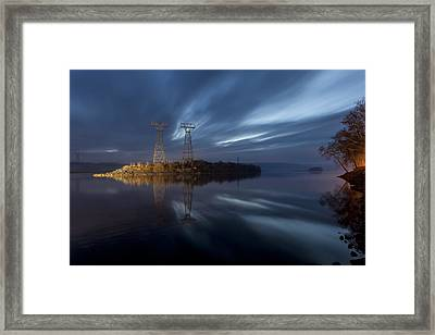 The Towers Of Power Framed Print