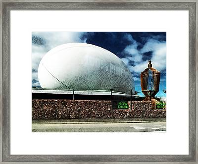The Town Ball Is Now Open Framed Print by Steve Taylor