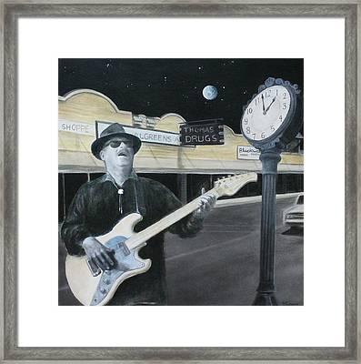 The Town Crier Framed Print by Patricia Ann Dees