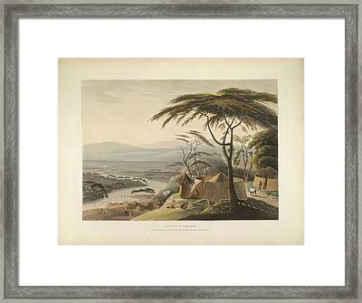 The Town Of Leetakoo Framed Print by British Library