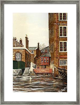 The Town Of Ramsgate Wapping London Framed Print by Mackenzie Moulton