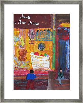 The Toy Master Framed Print by Omar Hafidi