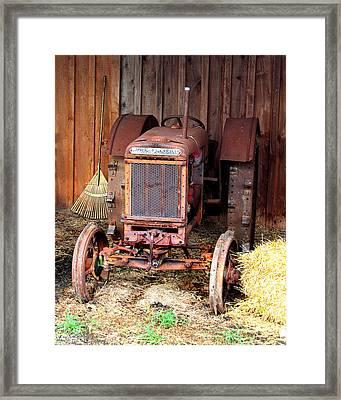 The Tractor Framed Print by John Freidenberg