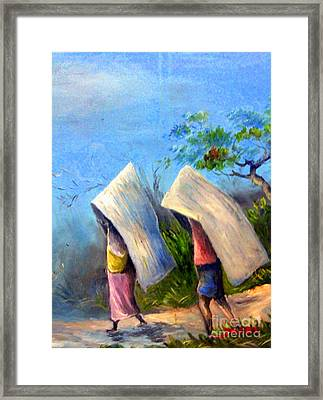 The Traditional Umbrella  Framed Print