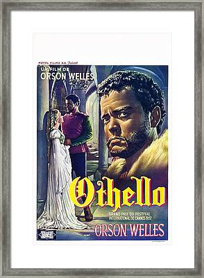 The Tragedy Of Othello The Moor Of Framed Print by Everett