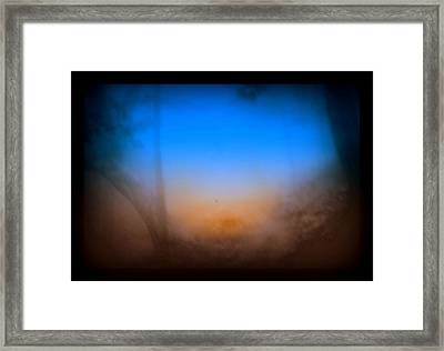The Trail Framed Print by Jason Lees