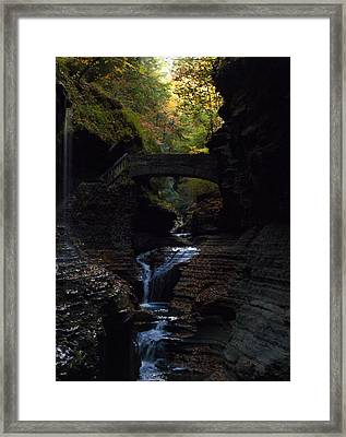 The Trail To Rivendell Framed Print