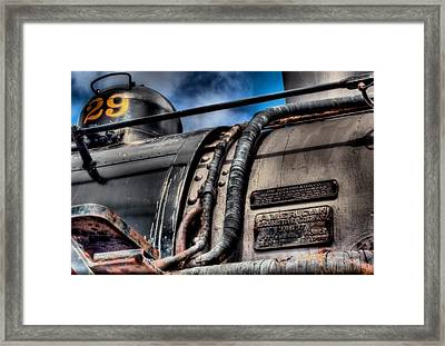 The Train Framed Print by DH Visions Photography