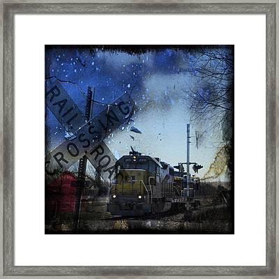 The Train Framed Print