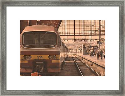 The Train Kept A Rollin Framed Print